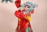 京剧花旦服装的团凤女蟒说明